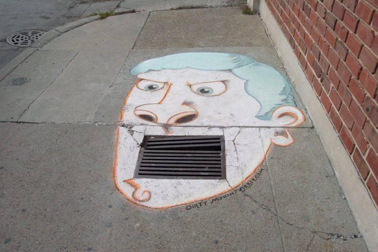 Sztuka na ulicach miast 10