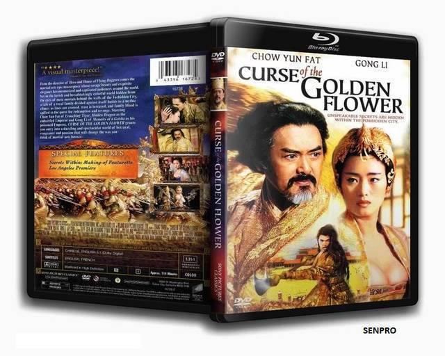 Curse Of The Golden Flower 2006 720p BDRip XviD ac3 eng-hardsub (avi) X@720