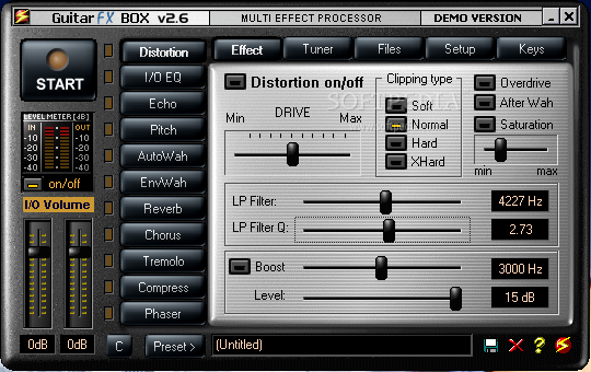 aplikasi efek gitar untuk pc