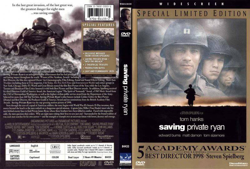 Saving Private Ryan  Omaha Beach Scene