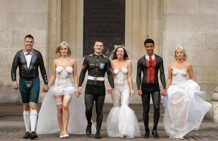 Najdziwniejsze zdjęcia ślubne 34