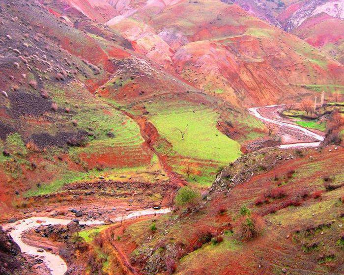 Piękne krajobrazy z Iranu 34