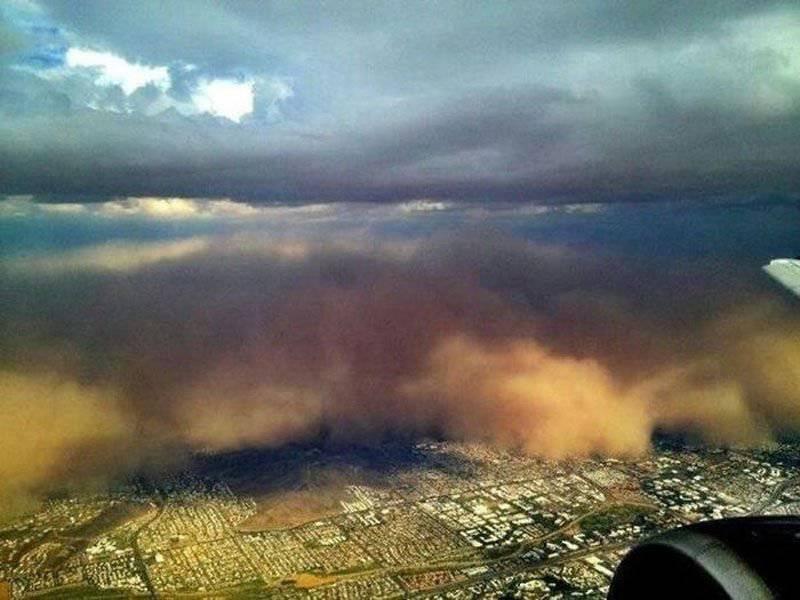 Burza piaskowa w Arizonie 23