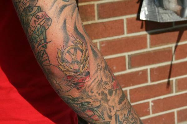 Tatuaże fanów Volkswagena 17