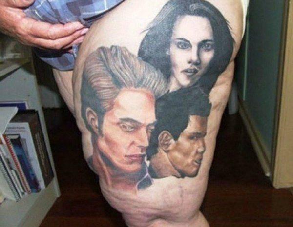 Tatuaże fanów sagi Zmierzch 7