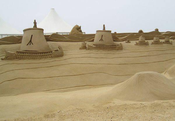 Rzeźby z piasku #3 56