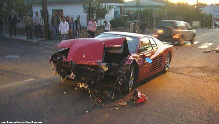 Wypadki najdroższych samochodów 19
