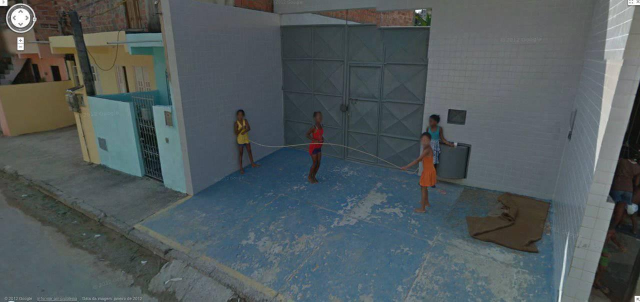 Nietypowe sceny z Google Street View #3 10