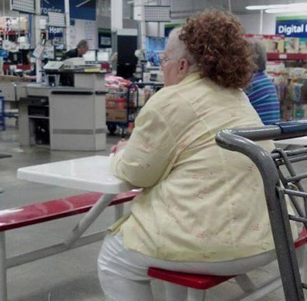 Najdziwniejsi klienci z WalMart #19 13