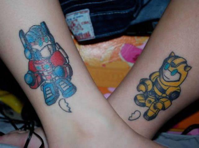 Tatuaże do pary 10