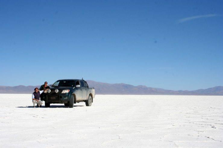 Salinas Grandes - białe pustynie Argentyny 11