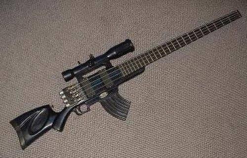 Najdziwniejsze gitary 9