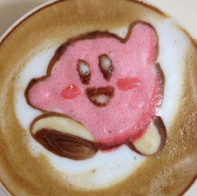 Latte art 6