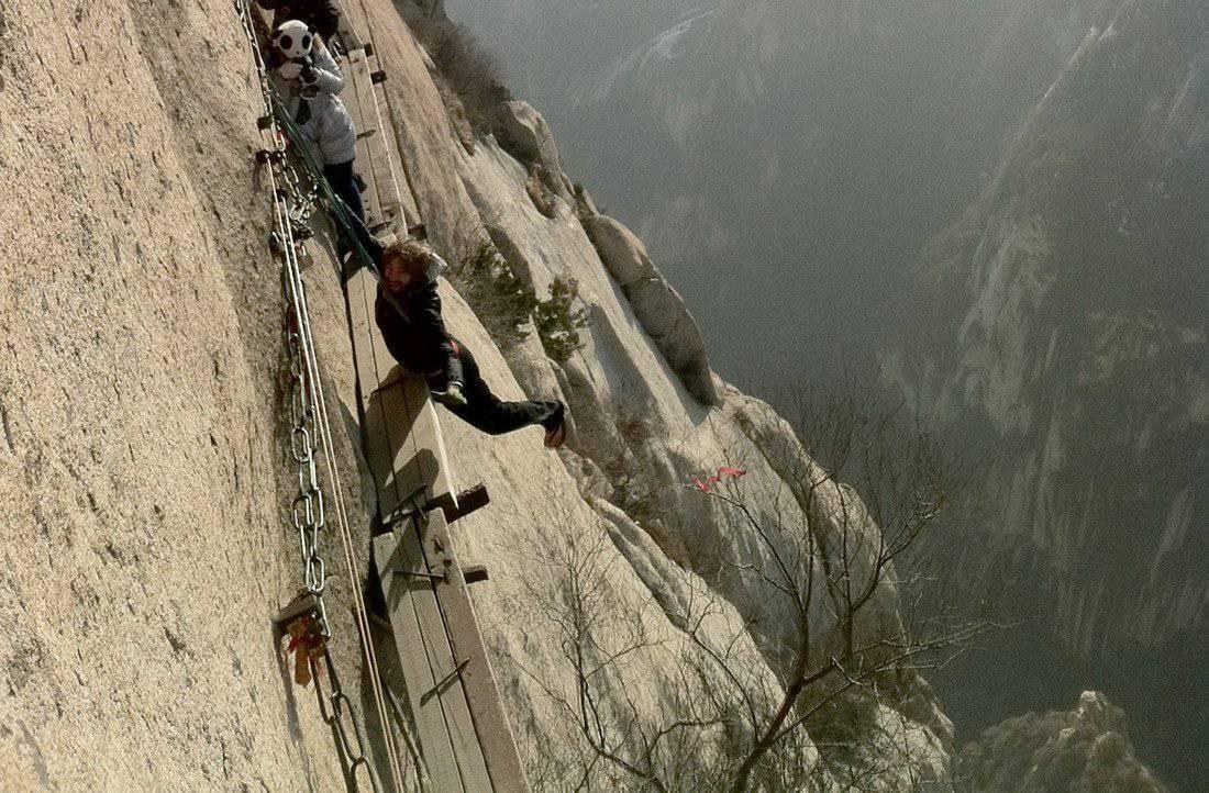 Droga na szczyt Hua Shan 29