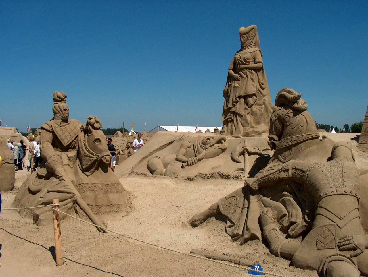 Rzeźby z piasku #5 20