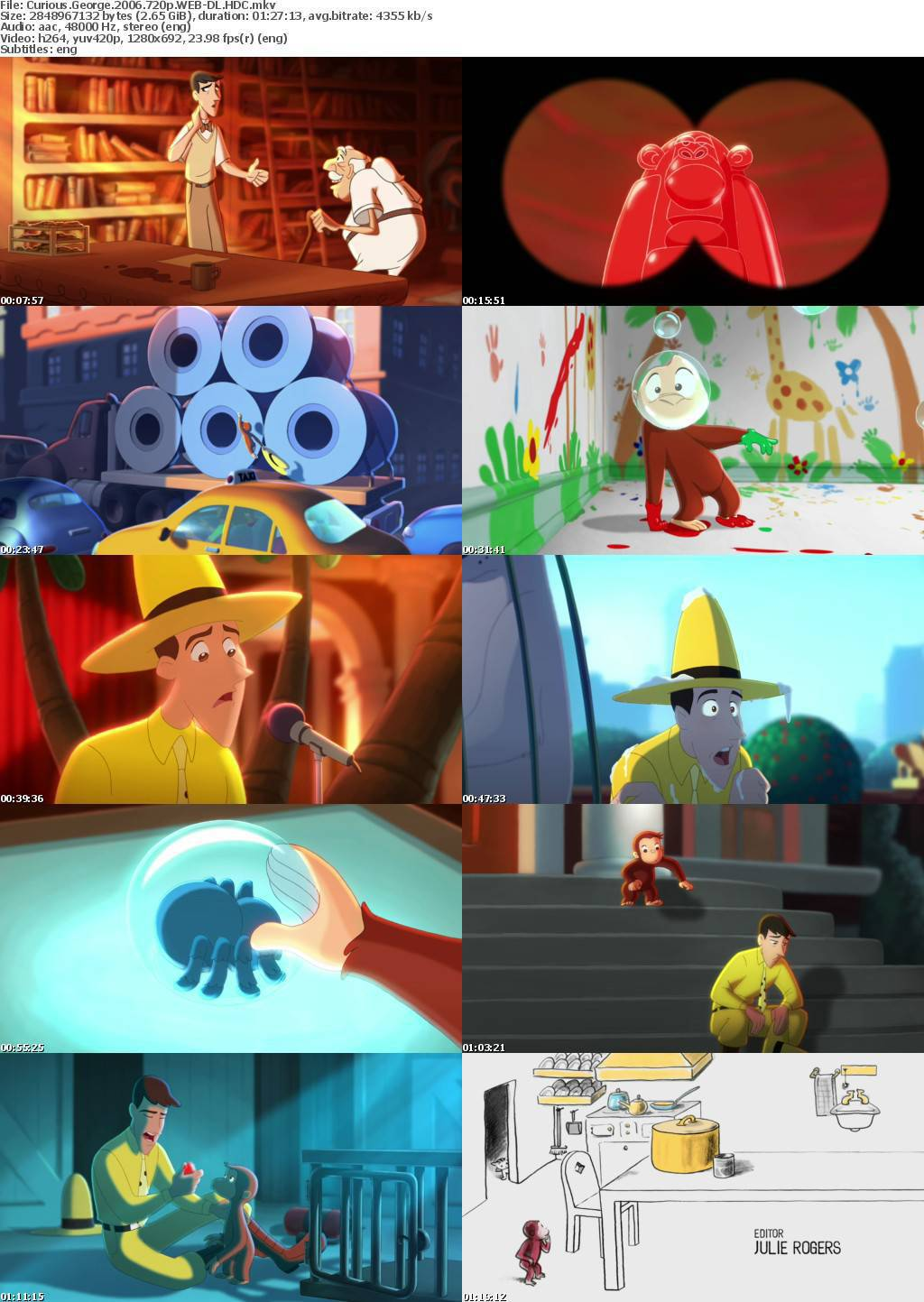 Curious George (2006) Screenshots