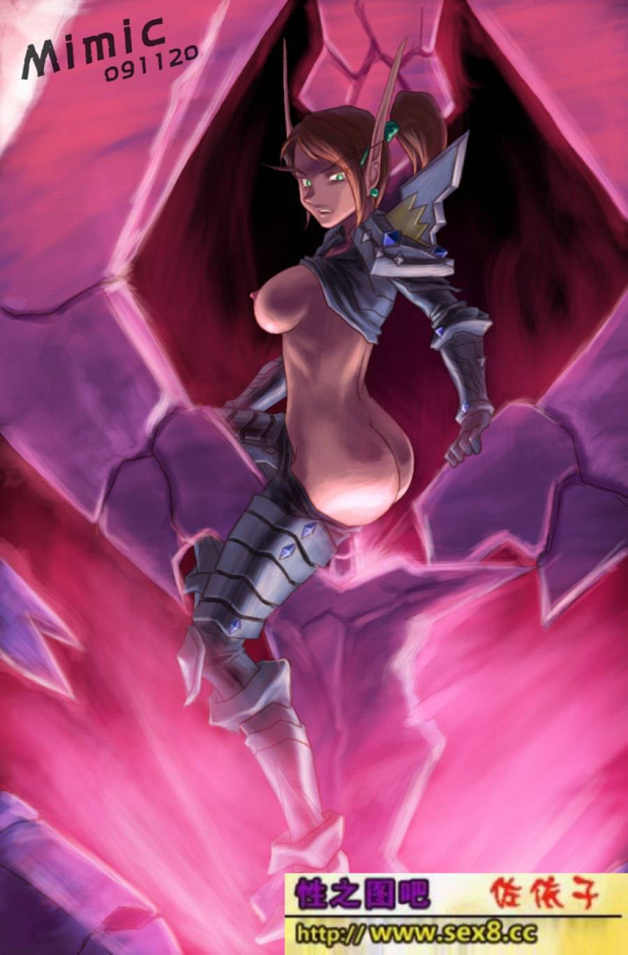 Free sexy lady elf galleries erotic comic