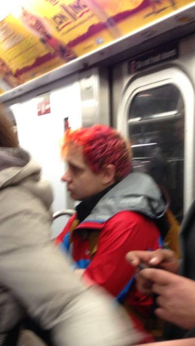 Najdziwniejsi ludzie w metrze 19