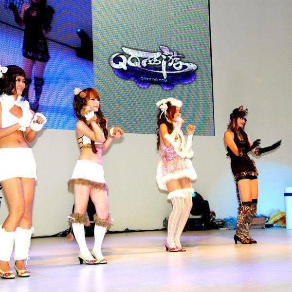 Dziewczyny z ChinaJoy 2010 11