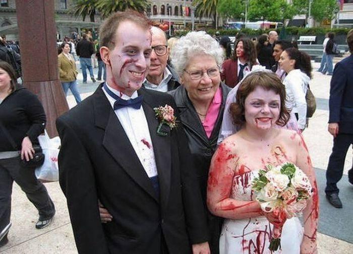 Najdziwniejsze śluby #3 36