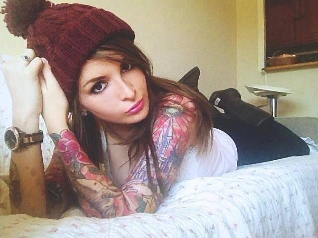 Dziewczyny z tatuażami #3 6
