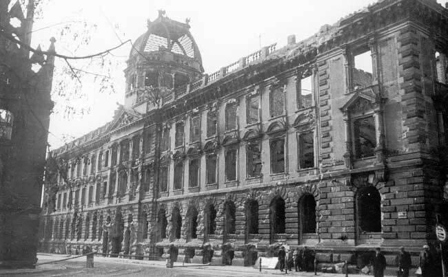 Wrocław  1945 Zniszczenia 112