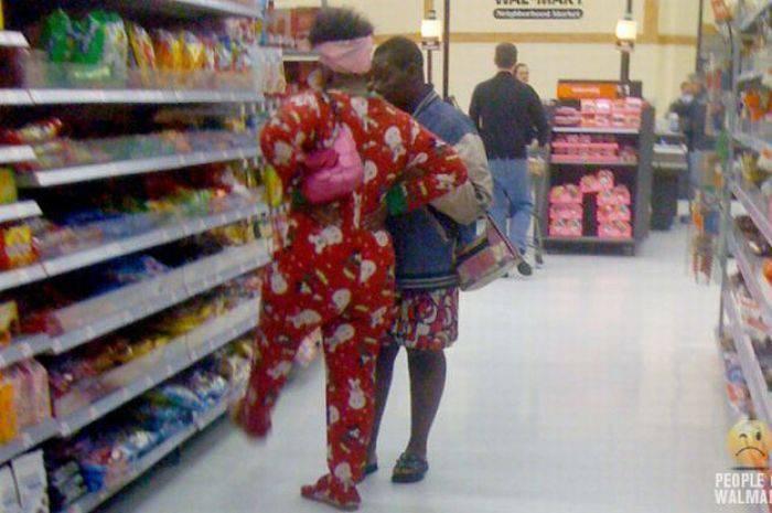 Najdziwniejsi klienci z WalMart #5 19