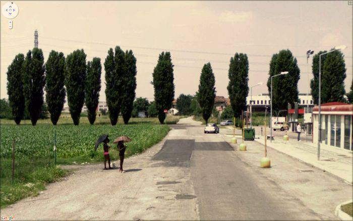 Nietypowe zdjęcia z Google Street View 17
