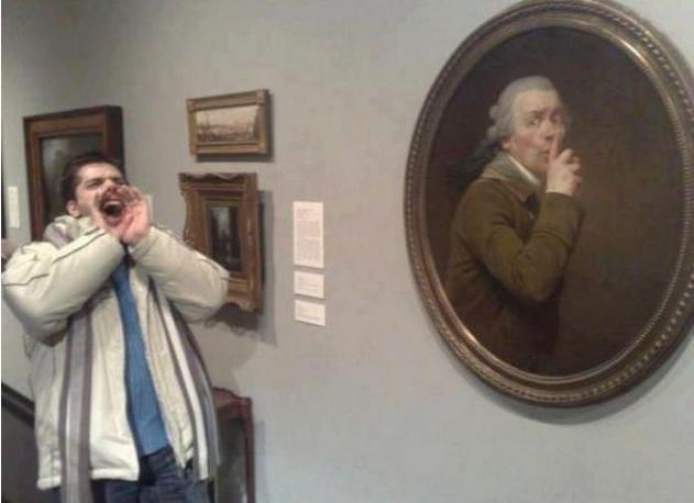 Wygłupy w muzeum 5