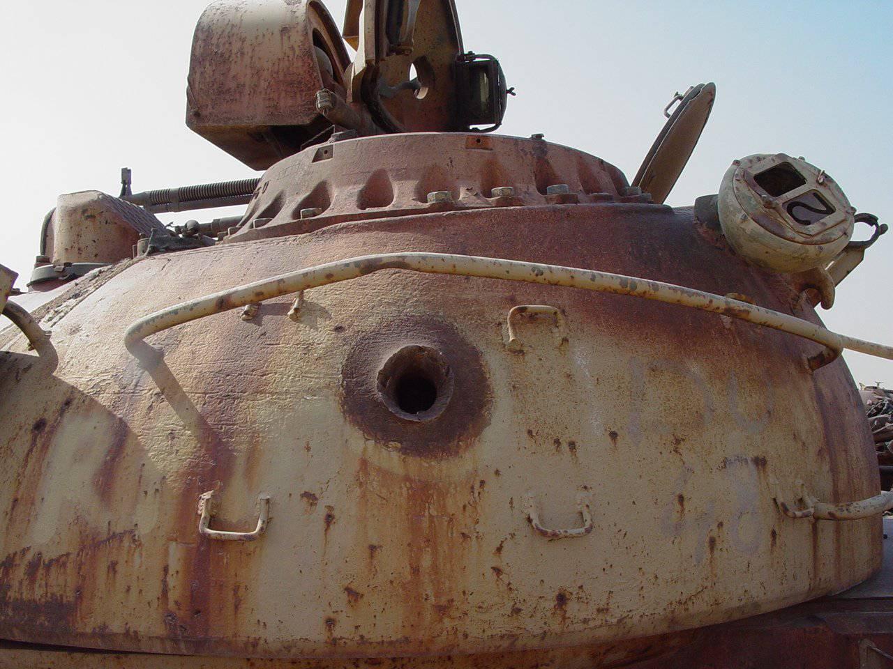 Cmentarzysko czołgów w Kuwejcie 14