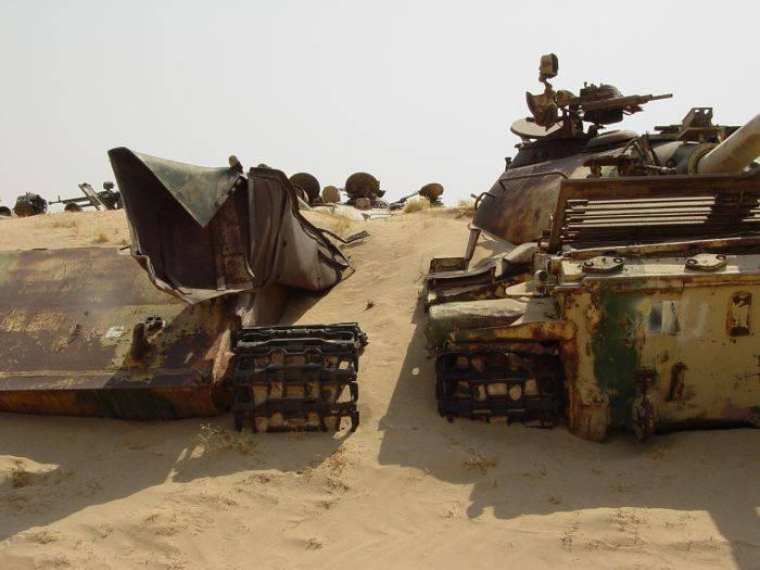 Cmentarzysko czołgów w Kuwejcie 1