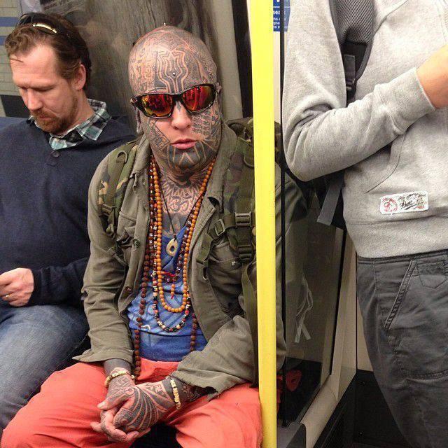 Najdziwniejsi pasażerowie metra 21