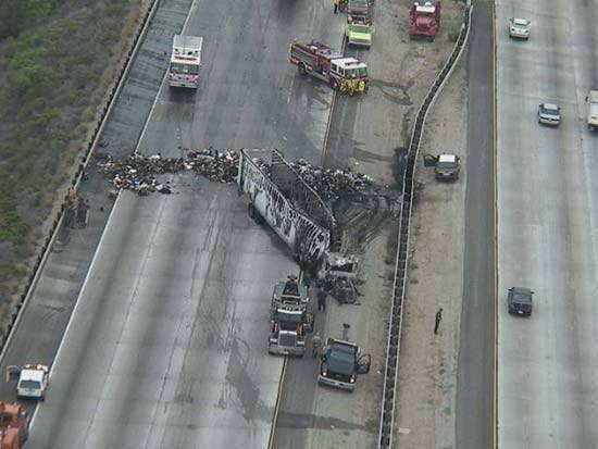 Wypadki ciężarówek 21