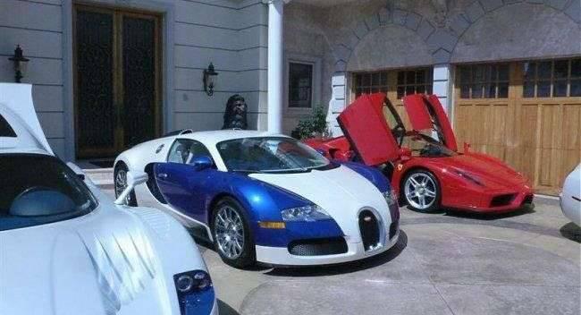 Najdroższy garaż świata 15