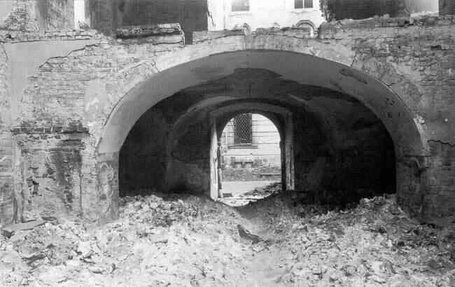 Wrocław  1945 Zniszczenia 28