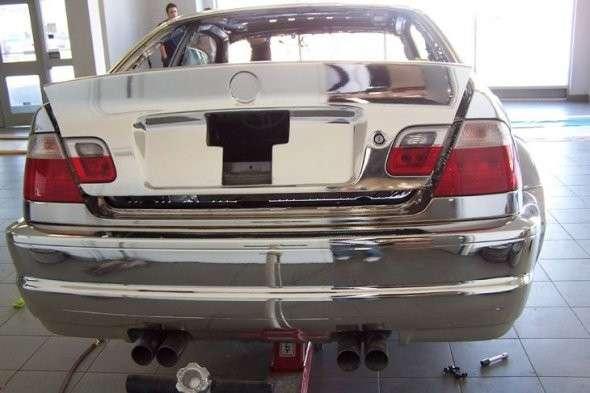 Chromowane BMW M3 7