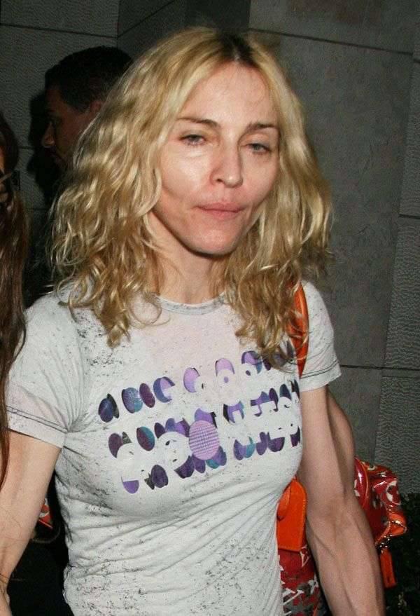 Madonna z córka 1