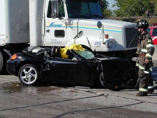 Wypadki ciężarówek 33