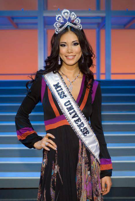 Miss Universe od 1952 57
