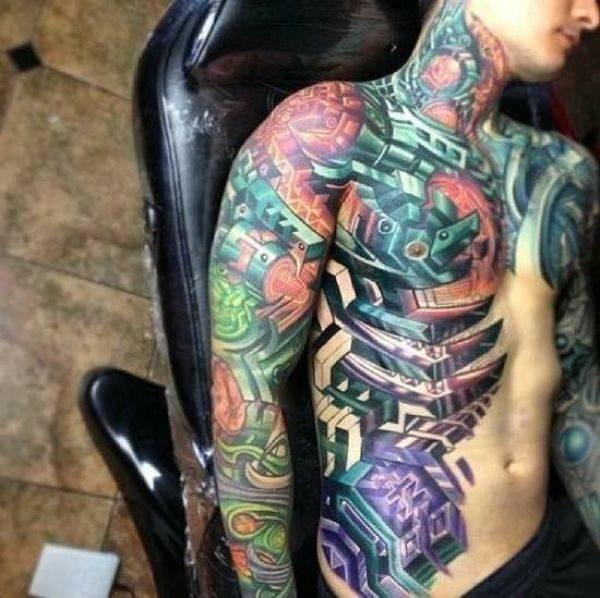Świetne tatuaże #4 13