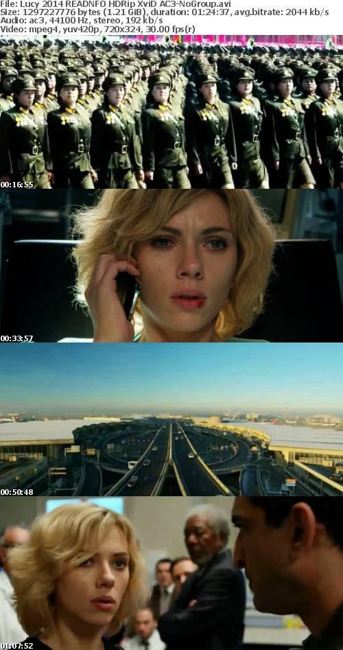Lucy 2014 READNFO HDRip XviD AC3-NoGroup