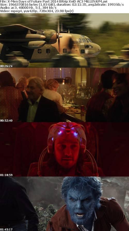 X-Men Days of Future Past 2014 BRrip XviD AC3 MiLLENiUM