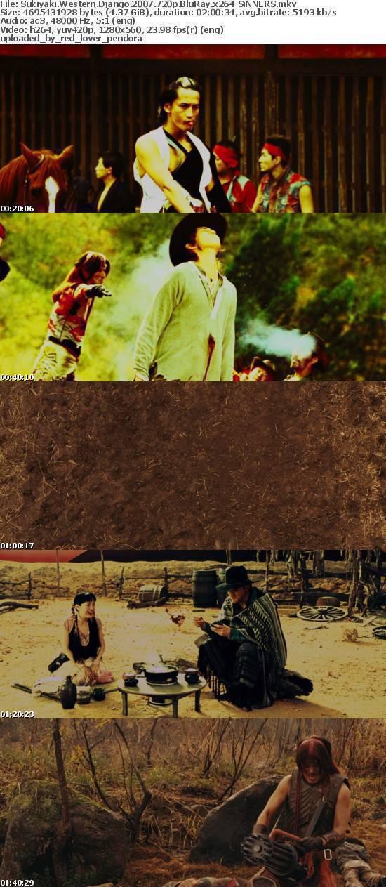 Sukiyaki Western Django 2007 720p BluRay x264-SiNNERS
