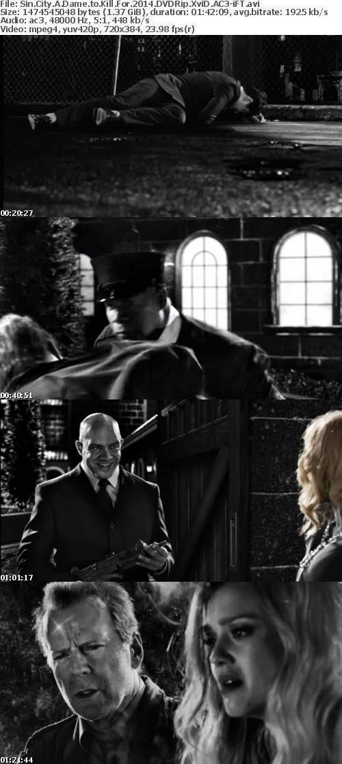 Sin City A Dame to Kill For 2014 DVDRip XviD AC3-iFT
