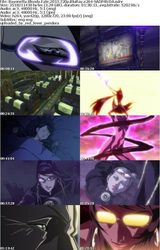 Bayonetta Bloody Fate 2013 720p BluRay x264-SADPANDA