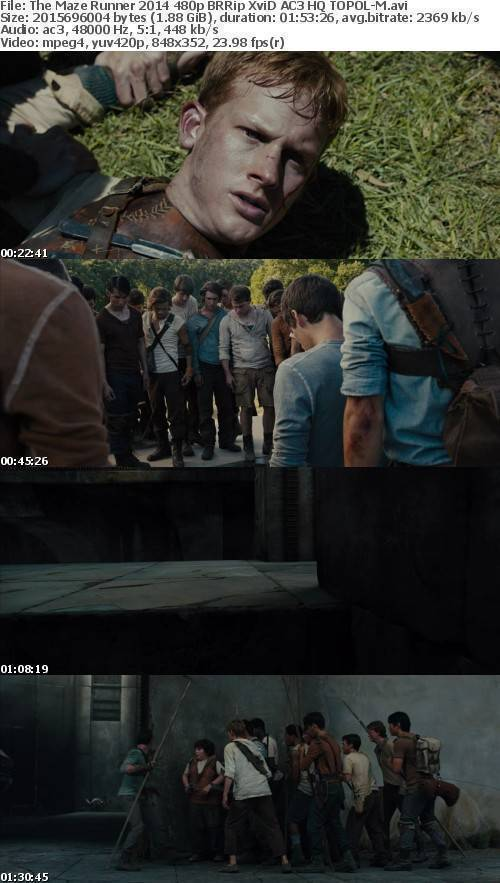 The Maze Runner 2014 480p BRRip XviD AC3 HQ TOPOL-M