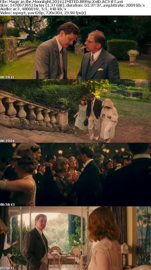 Magic in the Moonlight 2014 LIMITED BRRip XviD AC3-iFT