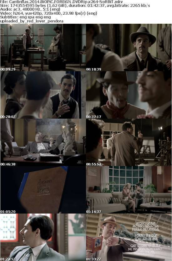 Cantinflas 2014 BiOPiC FOREiGN DVDRip x264-NoRBiT