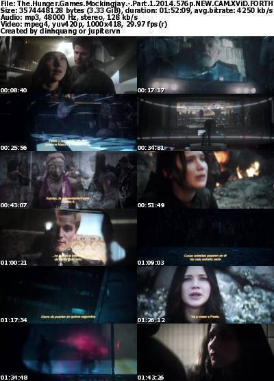 The Hunger Games Mockingjay - Part 1 (2014) 576p NEW CAM XviD-FORTHEADULTS