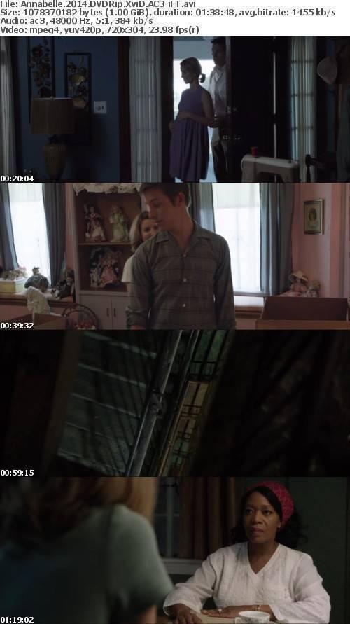 Annabelle 2014 DVDRip XviD AC3-iFT